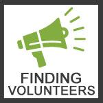 Finding Volunteers